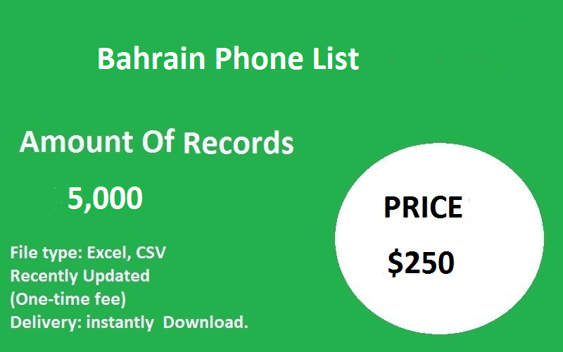 Bahrain Phone List