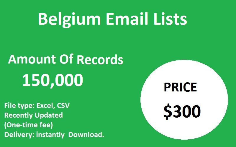 Belgium Email Lists