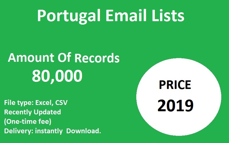 Portugal Email Lists